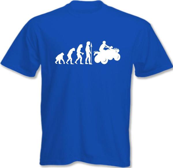 Evolution Of Superbike - Mens Funny T-Shirt Bike Motorbike