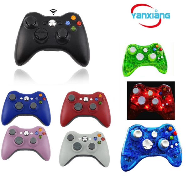 best selling 5pcs Game Controller For XBOX 2016 New Brand Wireless Gamepad Game Pad Joypad Controller for Microsoft Xbox 360 Quality YX-360-01