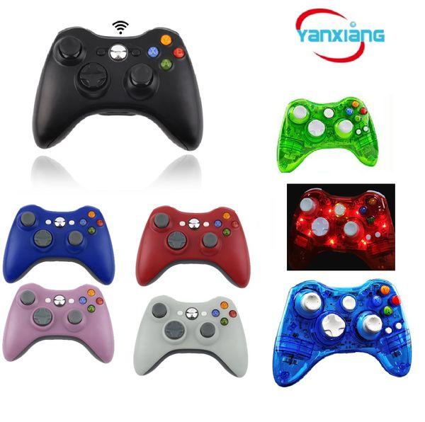 5 pcs controlador de jogo para xbox 2016 nova marca sem fio gamepad game pad controlador joypad para microsoft xbox 360 qualidade yx-360-01