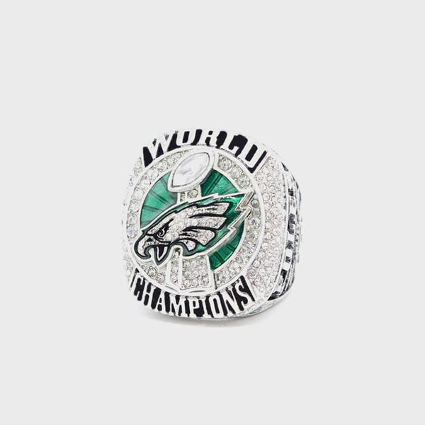 Hot-Sale 2017- 2018 Philadelphia Eagles ring Championship ring alta calidad Tamaño 7-15