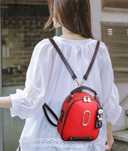 Backpack female 2018 new fashion ins super fire shoulder slung mini backpack