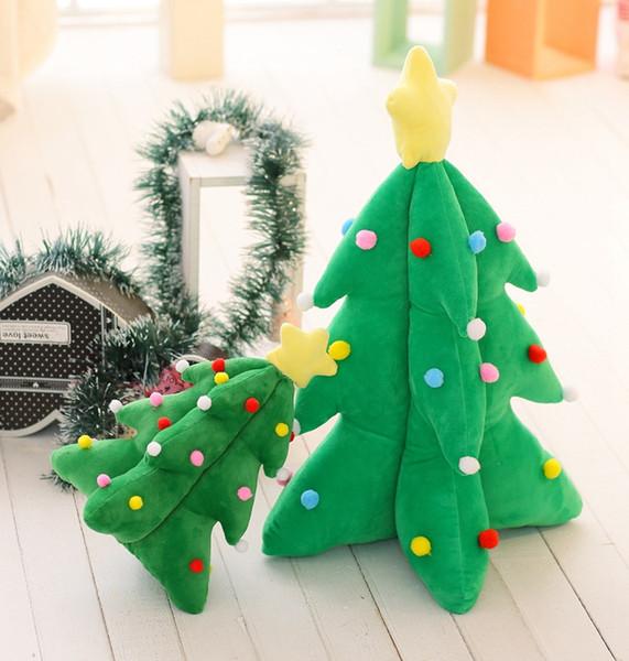 Hot Sale Children Toys Games Music Led Christmas Tree Toys Gifts for Kids Girl Flashing Lights Plush Dolls Showcase Home Christmas Ornaments
