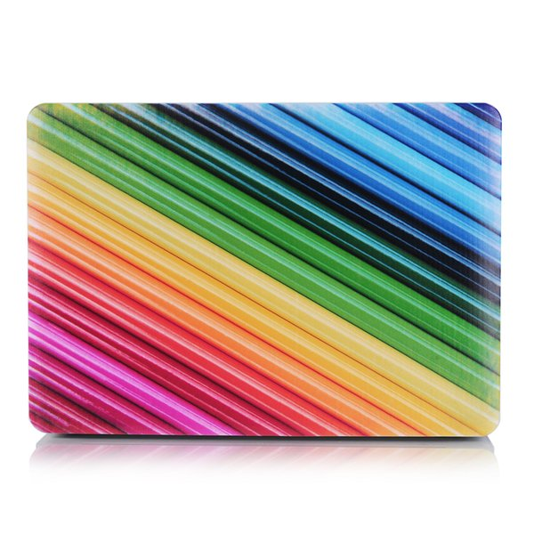 Colourful-3 Oil painting Case for Apple Macbook Air 11 13 Pro Retina 12 13 15 inch Touch Bar 13 15 Laptop Cover Shell