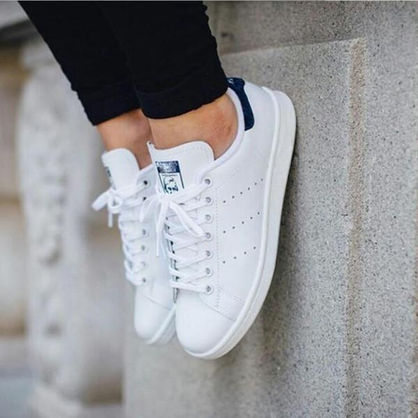 2018 klasik stil Stan çapa erkek kadın rahat ayakkabılar 36-44 beyaz musial Stan Smith kaykay ayakkabı