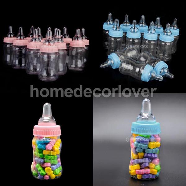 12x bouteilles de lait fille garçon bébé douche de baptême faveurs boîte de bonbons décor de fête