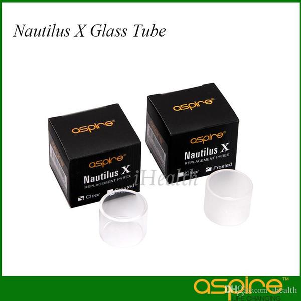 Aspire Nautilus X Glass Tube Replacement Glass Tank Clear Frost Glass Tube for Nautilus X Atomizer 100% Original