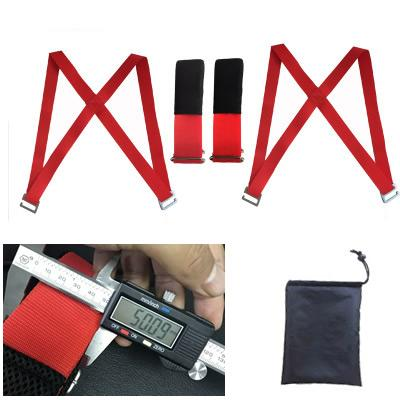 Red Moving Straps