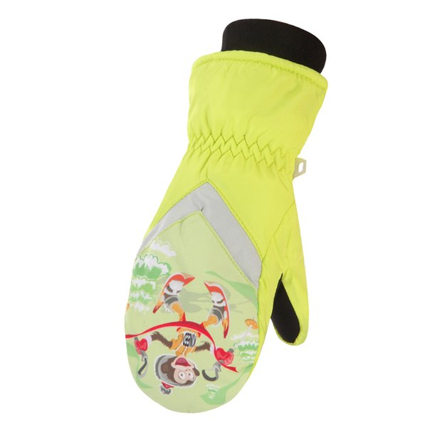 Runature Winter Warm Mittens for Kids Ski Gloves Outdoor Sports Gloves for Running Cycling Sonwboarding Waterproof Skiing