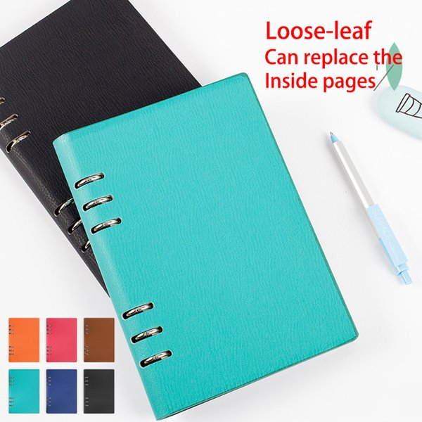 High Quality Notepad Composition Book Office Planner Agenda Notebook PU Leather Schedule Book Diary Weekly Supplies Stationery