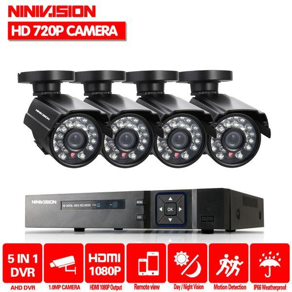 Sistema HDTV 2000TVL 8CH CCTV 3G WIFI 4 canali Full 1080P HDMI AHD DVR kit 1080p uscita 4 pz sistema di telecamere di sicurezza con 1 TB HDD