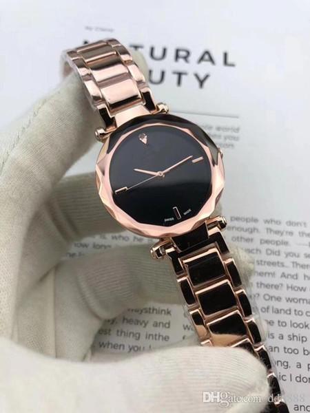 la marca neewealthstar banda de lujo de acero inoxidable Womees marca relojes ropa de mujer relojes de cuarzo movt moda wa
