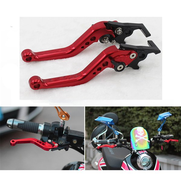2pcs GY6 CNC Disc Brake Levers Handle Levers For Motorcycle Scooter Electrical