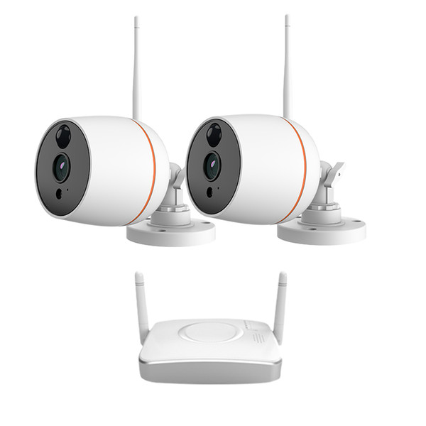 CCTV System Wireless 1080P NVR With 2.0MP Outdoor weatherproof Wifi Security Camera System Night Vision Surveillance Kit
