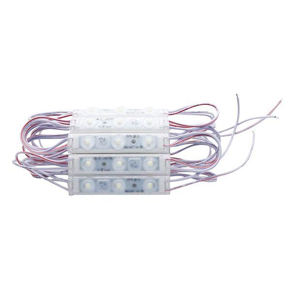 Best2011 LED Module 2835 SMD IP68 Waterproof Injection Lens LED Sign Advertising Backlight 70*14MM Pixel Light DC 12V 1000PCS/LOT