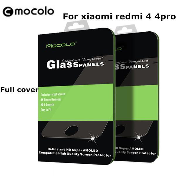 mocolo Tempered Glass for Xiaomi redmi 4X full cover Screen Protector Coating Protective Film Redmi 4 pro 4pro prime 4A