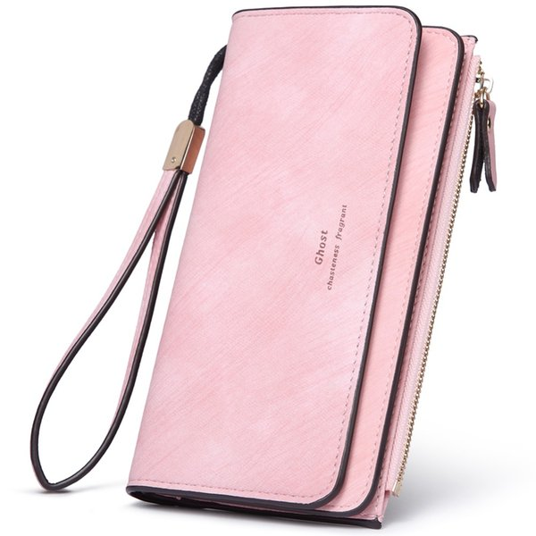 CHALLEN Tassel Envelope Women Wallet Brand Designer Black Leather Female Wallets Ladies Purse Long Card Holder Clutch Carteira
