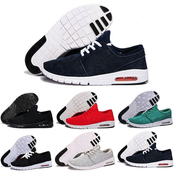 New Arrival Mens Running Shoes With Tag New fashion SB Stefan Janoski Maxes Mens and womens Fashion Sneakers shoes EUR 36-45 Free Shipping