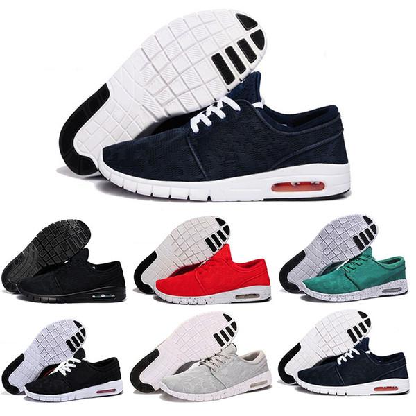 Nouvelle Arrivée Hommes Chaussures De Course Avec Tag Nouvelle Mode SB Stefan Janoski Maxes Hommes et Femmes De Mode Sneakers Chaussures EUR 36-45 Livraison Gratuite
