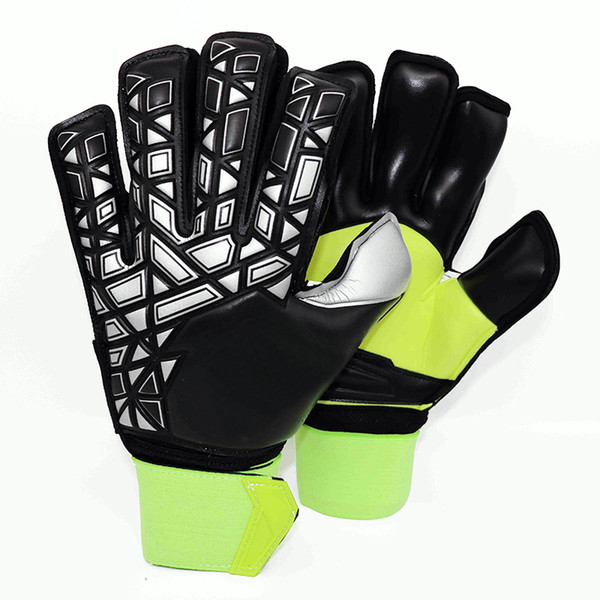 newest collection aab70 9b6b3 2019 Adult Men Ace Trans Pro With Finger Save Latex Soccer Gloves  Goalkeeper Gloves Training Football Gloves From Kekezhang, $30.16 |  DHgate.Com