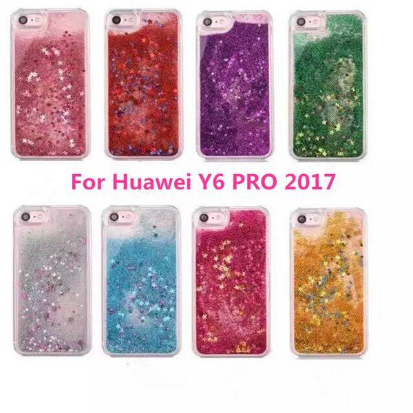 custodia glitter huawei y6 pro 2017