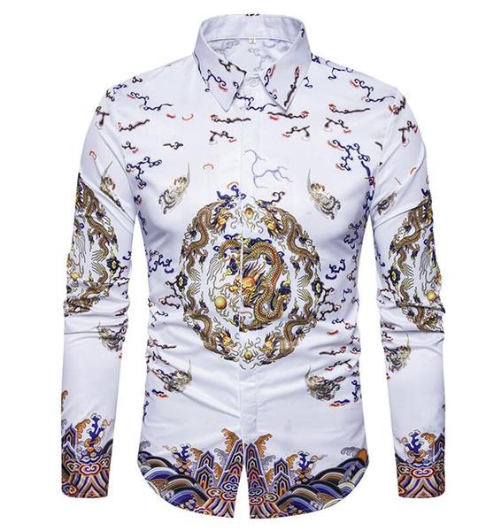 Hommes Chemise Hommes D'affaires Chemises Décontractées 2018 Nouvelle Arrivée Hommes Célèbre Marque Vêtements À Carreaux À Manches Longues Camisa Masculina 712