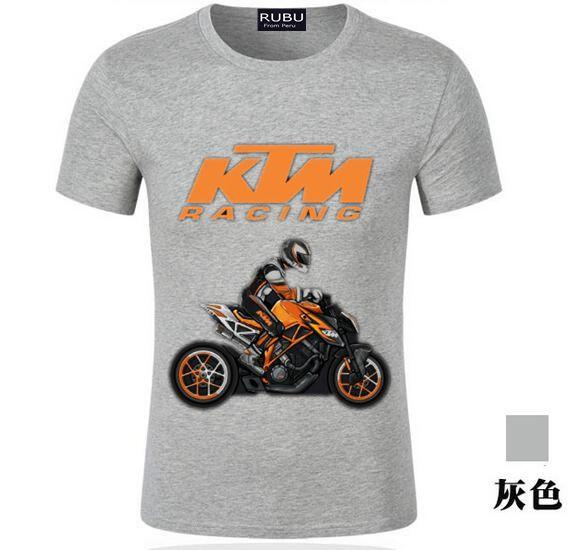 Men's T-shirts KTM T Shirt Men'SPlain Custom Short Sleeve Tee Shirt S---XXXL Men'S Motor T-shirts Homme Custom Made Tees