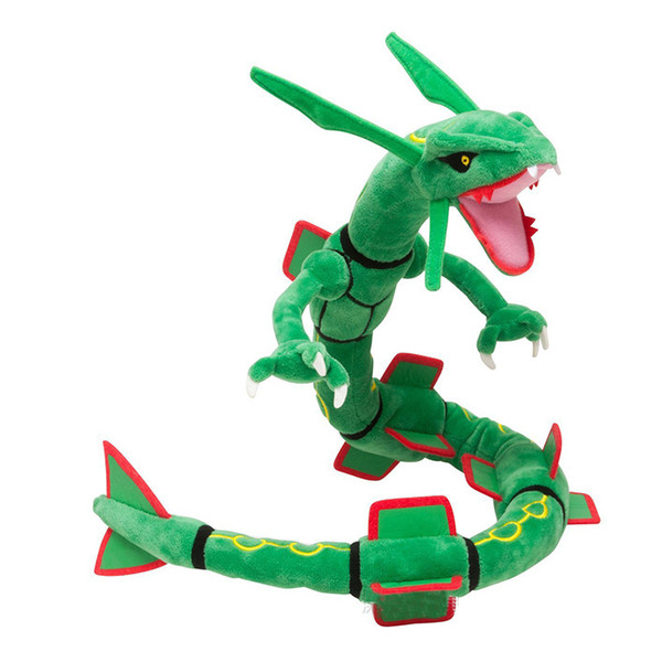 "10PCE 31.49"" Dragon Plush Toy Mega Rayquaza Soft Stuffed Animal Cartoon Figures Doll Chidren Gifts"