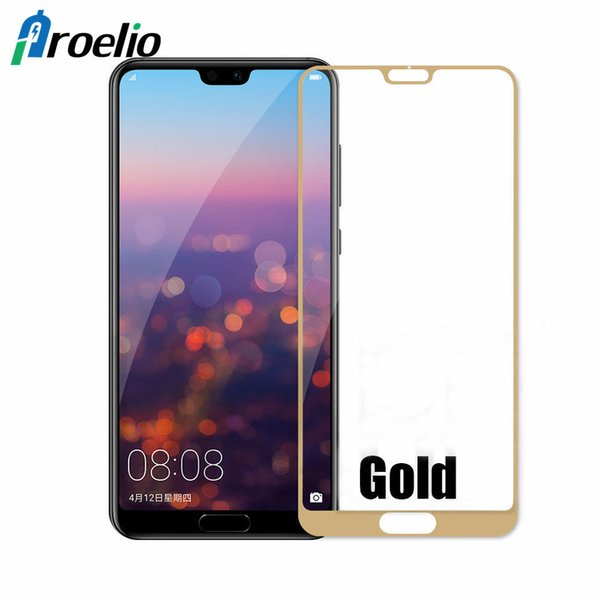 Proelio For Huawei Mate 8 9D Screen Protector Glass Film For Huawei P20 Lite P10 Plus Full Cover Tempered Glass Protective