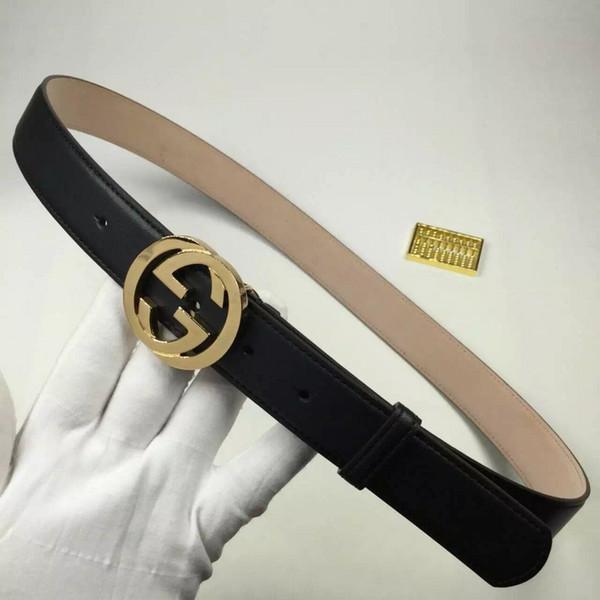 gran descuento 77c7a 13eee Compre Diseñador Gucci Cinturones Para Las Mujeres Nuevo 2018 Moda Mujeres  Cinturón Marca Señoras Imitación Cuero Hebilla De Metal Correas Niñas ...