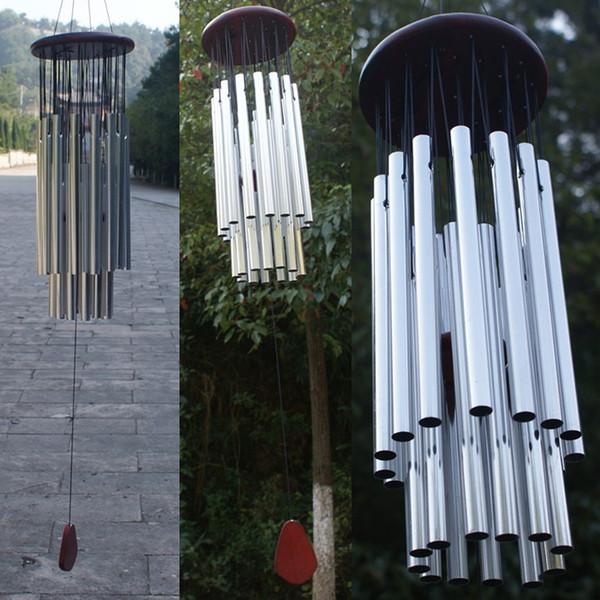 Antique Wind Chimes 27 Tubes 5 Bells Outdoor Living Yard Windchimes Tubi da giardino Campane Wind Chimes Hanging Home Decor