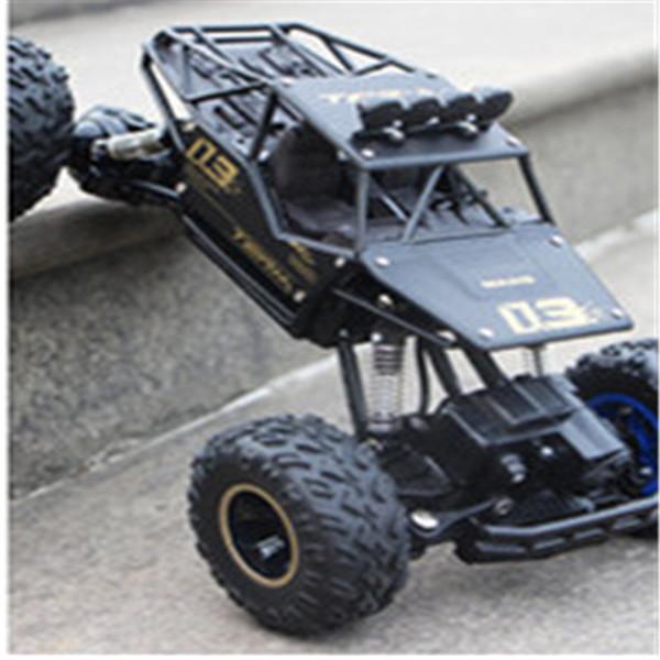 auto telecomandata in lega, acrobazie resistenti agli urti, 2.4G trazione integrale arrampicata su Bigfoot racing K0368