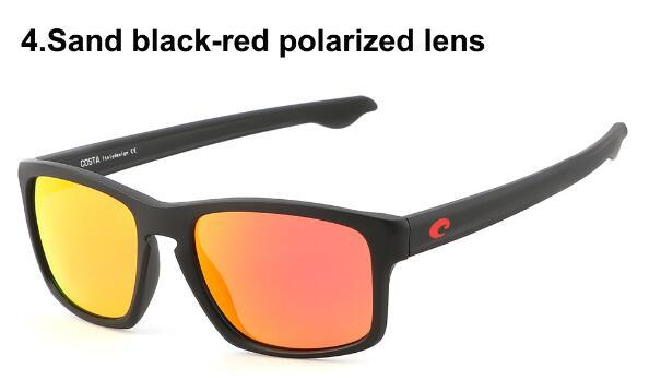 лето новый человек черная рамка поляризованные солнцезащитные очки Goggle вождение пляж Велоспорт очки спортивные солнцезащитные очки высокое качество Бесплатная доставка