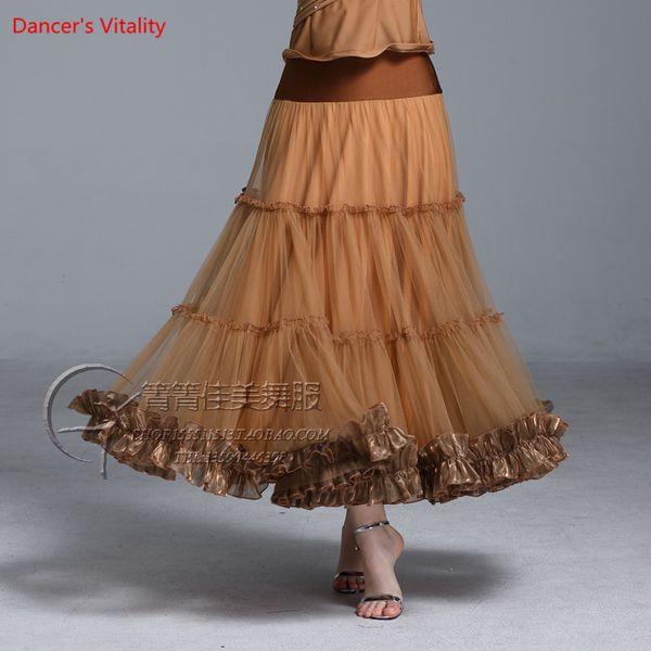 Lady Girls Modern Dance Cut out Patchwork Skirt Competition Performance Clothes Women Rumba Samba Tango Ballroom Jazz Dancewear Outfits Suit