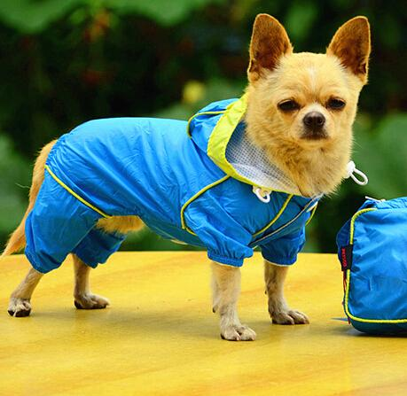 Dog Raincoats for Dog Clothes Waterproof Pet Raincoat For Puppy Dogs Supply Jumpsuit Jacket Pet Products