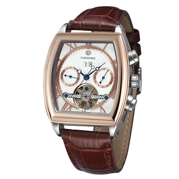 38d570a27510 Купить Оптом Мужские Наручные Часы Кожа Античный Стимпанк Автоматические ...