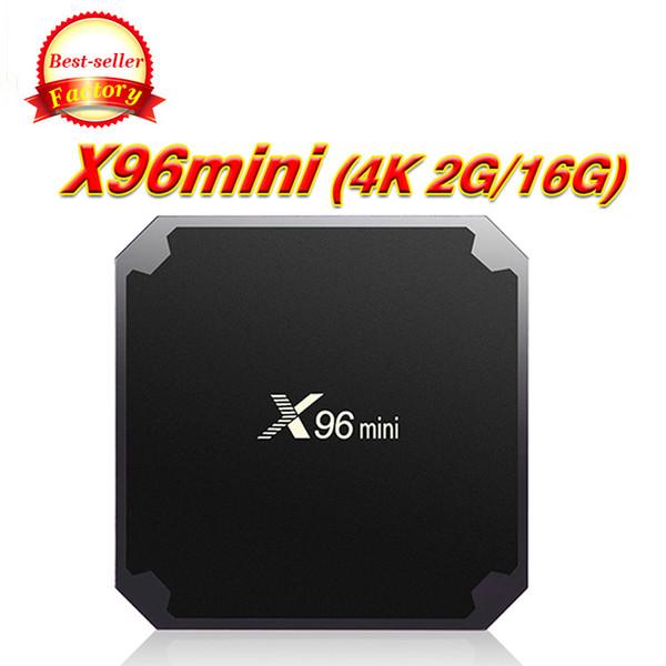 TX3 X96 Mini Caixa de TV Amlogic S905W Quad Core 1/2 GB 8/16 GB Android 7.1 Inteligente Media Player Suporte IPTV 2.4G Wifi Melhor MXQ Pro M8S Mais W