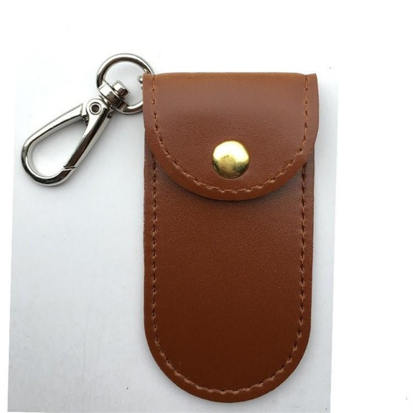 Creative Simple Durable Retro Hand Spinner Bag Practical Good Container Fidget Spinners Leather Sheath Special Cover Brown Hot Sale 3 1nw aa
