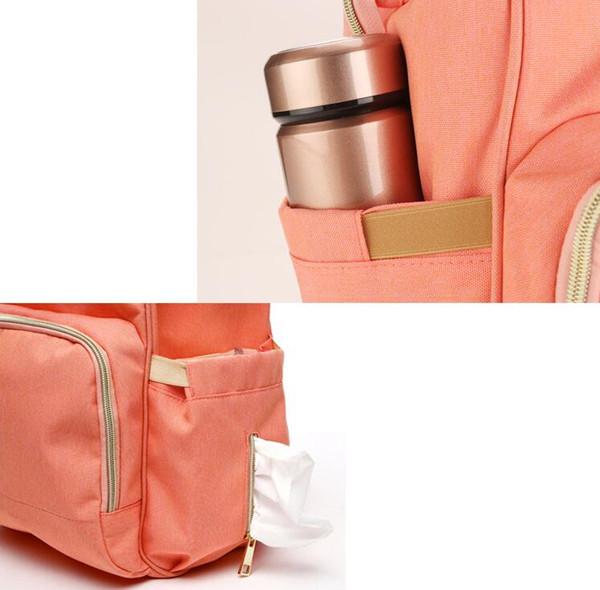 10 цветов мама рюкзаки подгузники сумки мать материнства пеленки рюкзак большой объем открытый путешествия водонепроницаемый модные сумки хороший 2018
