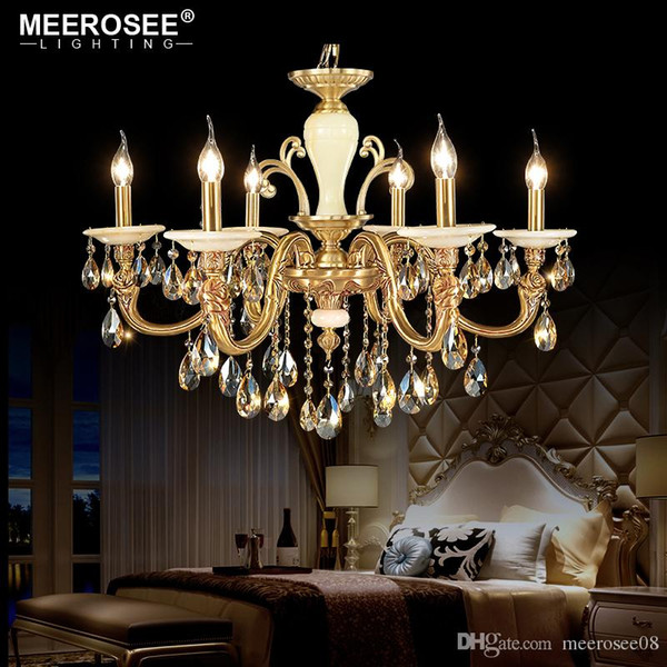 Top Quality Crystal Chandelier Lighting Modern Hanging Lamps For Restaurant Villa Lustres de Cristal Luminaire Abajur