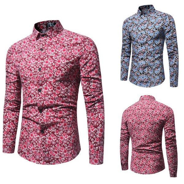 Spring Autumn Shirts Men Casual Jeans Shirt New Arrival Long Sleeve Casual Slim Fit Male Shirts