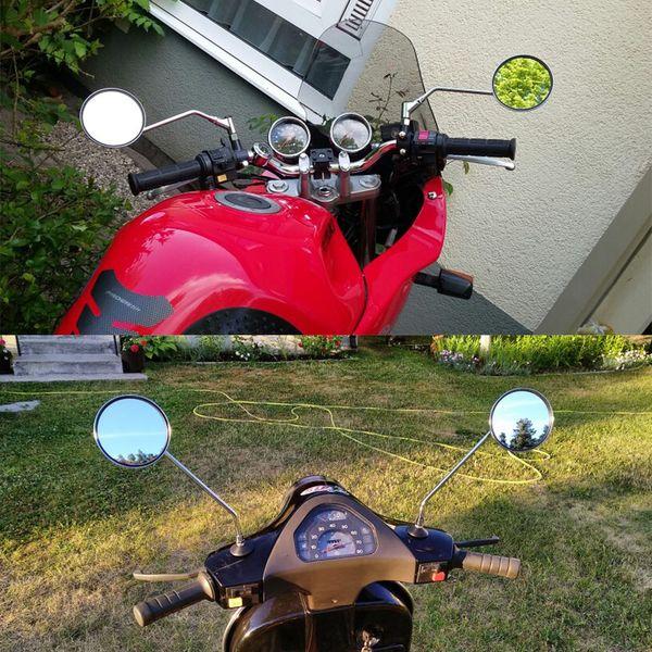 Yamaha Mirrors PAIR Mirror Set RD RS XS 100 125 175 200 250 350 360 400 500 650