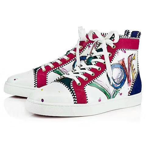 Модный дизайнер бренд шипованные Шипы квартиры обувь Красное дно обувь для мужчин и женщин любителей вечеринок кроссовки из натуральной кожи Q113587