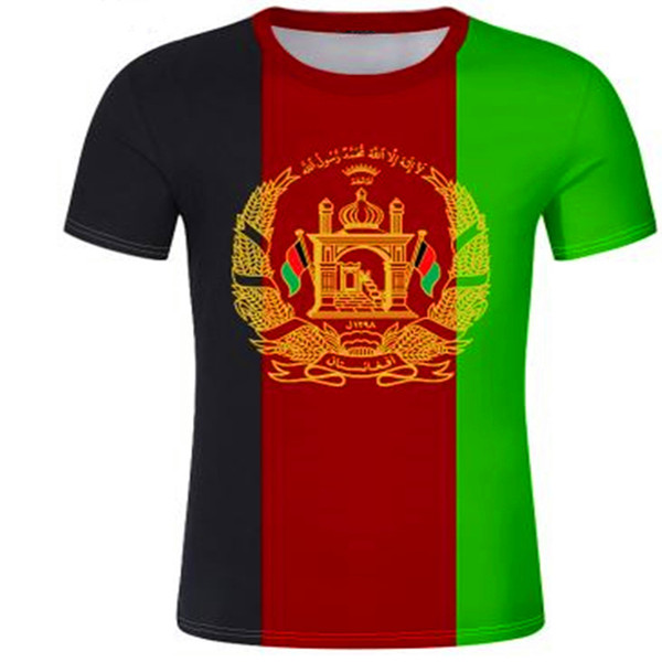 AFGHAN male youth t shirt free custom name number afg slam afghanistan arab t-shirt persian pashto islamic print text photo flag AF clothes