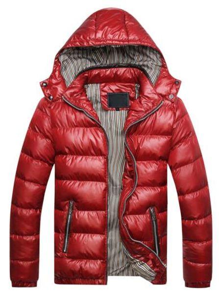 2018 new explosion models thick warm cotton coat autumn and winter new jacket jacket men Men's plus velvet padded warm leather jacket