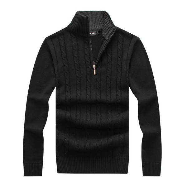 Mode - Jolies Hommes € chandails Zipper Pullover Pour Collection Printemps Hiver Vêtements de marque de qualité supérieure avec Nouveau Pull 111% coton Fabri