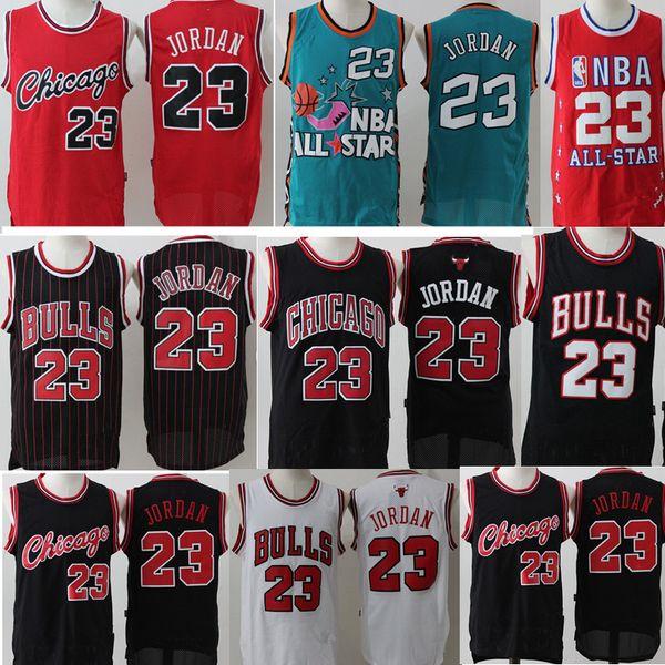 finest selection 5b548 576b9 2018 Retro Mesh Aj 23 Michael Chicago Bulls Jersey Men'S #15 Vince Carter  Basketball Jerseys Black White Red Stitched Logos From Heysports, $22.33 |  ...