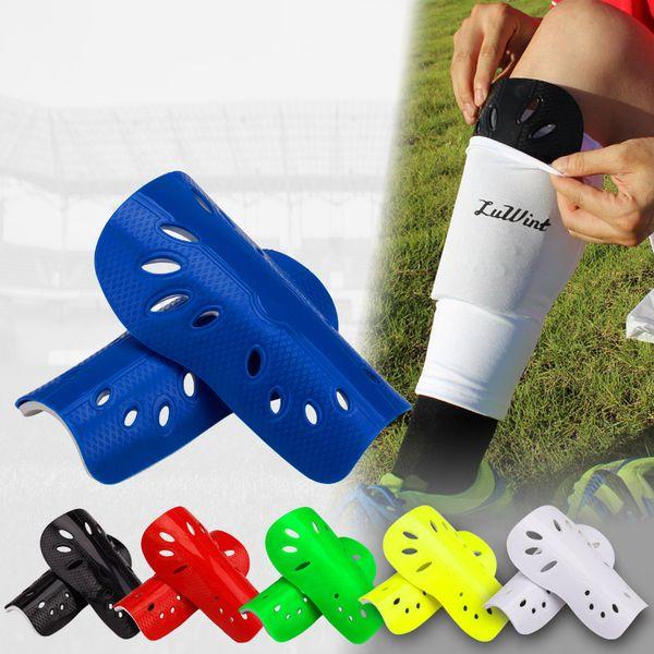 Kid&Adults Size Soccer Shin Guard Protective Leg Protector Sports Shin Pads football Training Leggings Socks can't Slipping