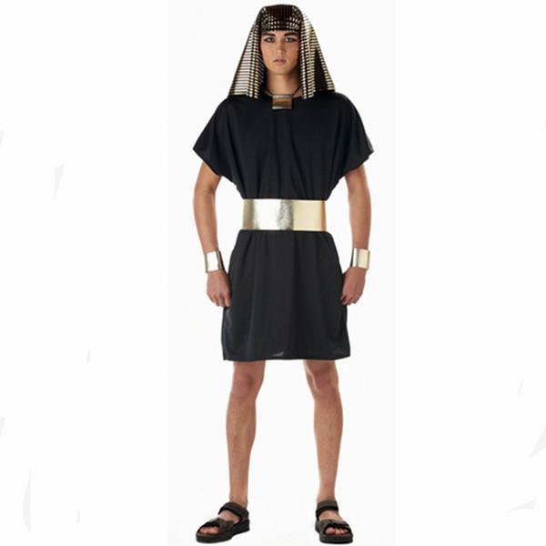 Ägyptisches Pharaonenkostüm für Männer Halloween cosplay für alte Kleidung der Männer Ägypten-Kostüms