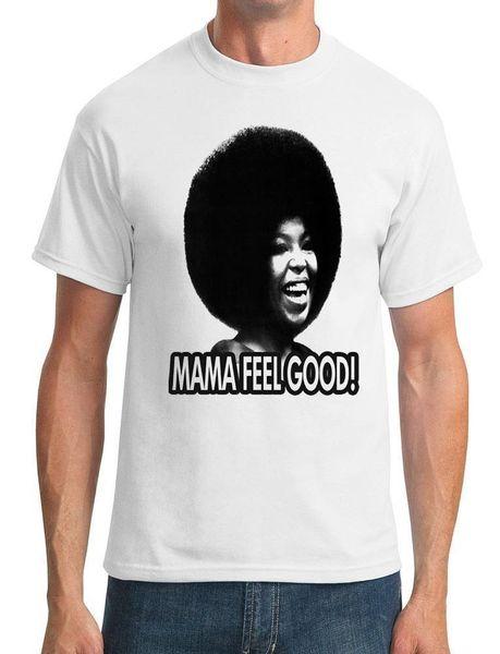 Venta caliente 2018 Fashion Mama Feel Good Soul Afro - Camiseta para hombre