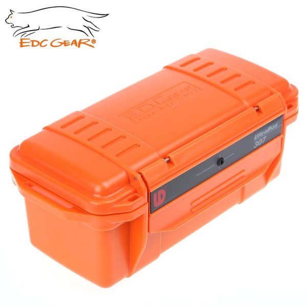 Colorful Outdoor Waterproof Box EDC Gear Storage Box Water Resistant Portable Outdoor Survival Case Strong Wearproof Useful Tool